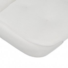 LemonBest Bantal Sandaran Bathtub SPA Pillow Cushion Neck Back Support - SPC3D - White - 13