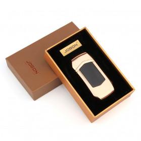 Jobon Korek Api Elektrik Heating Coil USB Lighter Finger Print - 0401 - Black - 3