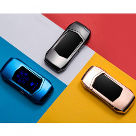 Jobon Korek Api Elektrik Heating Coil USB Lighter Finger Print - 0401 - Black - 4