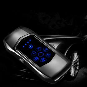 Jobon Korek Api Elektrik Heating Coil USB Lighter Finger Print - 0401 - Black - 6