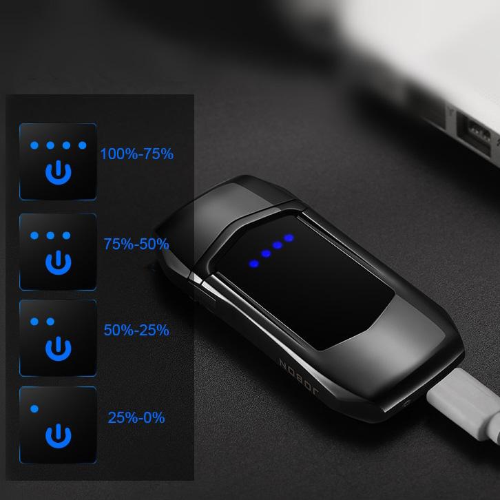 Jobon Korek Api Elektrik Heating Coil USB Lighter Finger ...