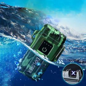 Jobon Explorer Korek Api Elektrik Plasma Arc Lighter Outdoor Waterproof - F1250 - Black - 3
