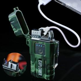 Jobon Explorer Korek Api Elektrik Plasma Arc Lighter Outdoor Waterproof - F1250 - Black - 4
