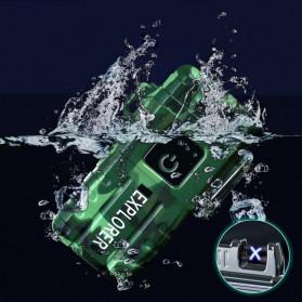 Jobon Explorer Korek Api Elektrik Plasma Arc Lighter Outdoor Waterproof - F1250 - Black - 5
