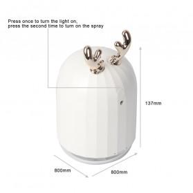 Berlato Humidifier Pelembab Udara Aromatherapy Oil Diffuser Cute Design 220ml - K-H160 - Pink - 8