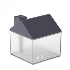 OTOKU Humidifier Pelembab Udara Aromatherapy Oil Diffuser Little House Design 250ml - K-H180 - Black - 2