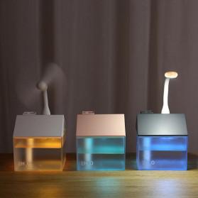 OTOKU Humidifier Pelembab Udara Aromatherapy Oil Diffuser Little House Design 250ml - K-H180 - Black - 4