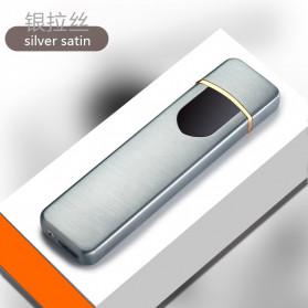 DAROBTL Korek Api Elektrik Fingerprint Touch Sensor - JL706 - Silver