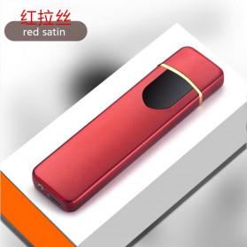 DAROBTL Korek Api Elektrik Fingerprint Touch Sensor - JL706 - Red