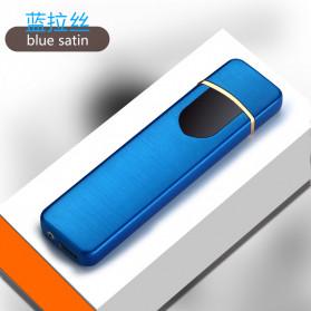 DAROBTL Korek Api Elektrik Fingerprint Touch Sensor - JL706 - Blue