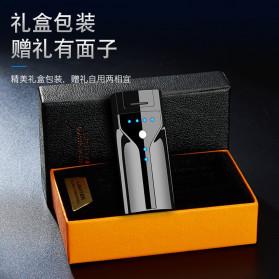 Macro Korek Api Elektrik Plasma Pulse Arc Lighter USB Rechargeable - JL308 - Metallic Black - 2