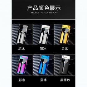 Macro Korek Api Elektrik Plasma Pulse Arc Lighter USB Rechargeable - JL308 - Metallic Black - 8