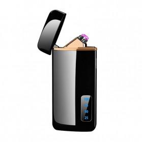 JOBON Korek Api Elektrik Pulse Plasma Arc Lighter Touch Sensor - HF-800 - Black - 4