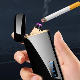 JOBON Korek Api Elektrik Pulse Plasma Arc Lighter Touch Sensor - HF-800 - Black - 6
