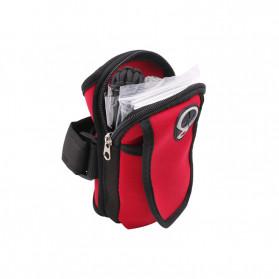 FervorFOX Emergency Survival Kit Multifunctional First Aid SOS Tools - J022 - Red - 2