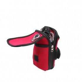 FervorFOX Emergency Survival Kit Multifunctional First Aid SOS Tools - J022 - Red - 7