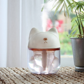 FreeOn Humidifier Pelembab Udara Aromatherapy Cat Claw Cup Design 120ml - K-H161 - Pink - 7