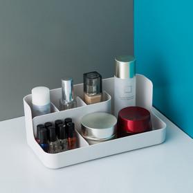 Mrosaa Kotak Make Up Organizer Penyimpanan Rak Skin Care - SBB - Gray - 3