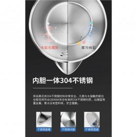 Honeyson Teko Listrik  Electric Kettle 800ML 1000W - H1268 - Black - 3