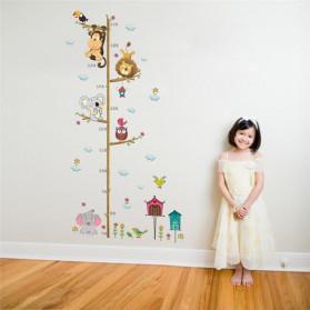 ZOOYOO Wallpaper Stiker Dinding Pengukur Tinggi Badan Anak Room Decor - HM0178 - White