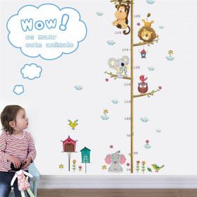 ZOOYOO Wallpaper Stiker Dinding Pengukur Tinggi Badan Anak Room Decor - HM0178 - White - 2