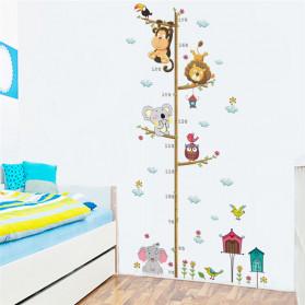 ZOOYOO Wallpaper Stiker Dinding Pengukur Tinggi Badan Anak Room Decor - HM0178 - White - 3