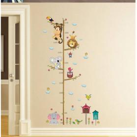 ZOOYOO Wallpaper Stiker Dinding Pengukur Tinggi Badan Anak Room Decor - HM0178 - White - 4
