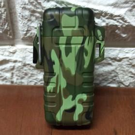 LST EXPLORER Korek Api Elektrik Pulse Plasma Double Arc USB Lighter - 27 - Camouflage - 2