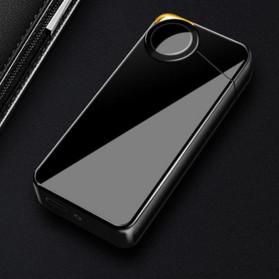 Korek Elektrik & Korek Api - DAROBTL Korek Api Elektrik Fingerprint Touch Sensor - JL607 - Black