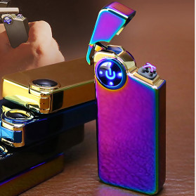 Korek Elektrik & Korek Api - DAROBTL Korek Api Elektrik Fingerprint Touch Sensor - JL607 - Multi-Color