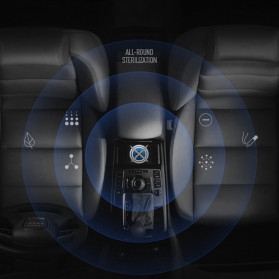 ICOCO Lampu UV Portable Disinfektan Germicidal Lamp Sterilization 500mAh - U60 - Black - 3