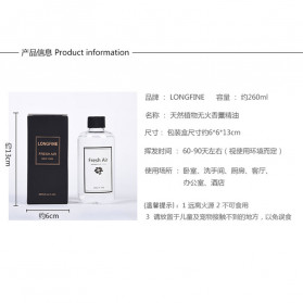LONGFINE Pure Essential Fragrance Oils Minyak Aromatherapy Diffusers Coco 260ML - LF200 - 9