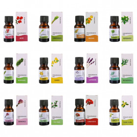 CHENF Pure Essential Fragrance Oils Minyak Aromatherapy Diffusers 10ml Geranium - RH-17 - 2