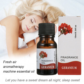 CHENF Pure Essential Fragrance Oils Minyak Aromatherapy Diffusers 10ml Geranium - RH-17 - 3