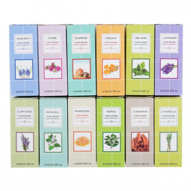 CHENF Pure Essential Fragrance Oils Minyak Aromatherapy Diffusers 10ml Sea Breeze - RH-21 - 3