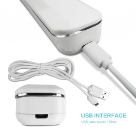 BRIGHTINWD Lampu UV Portable Foldable Disinfektan Germicidal Lamp Sterilization 2W - CC340 - White - 7