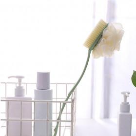 TREESMILE Sikat Mandi Bath Brush Back Rubbing with Shower Puff - LF73009 - Pink - 4