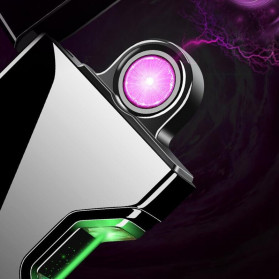 DAROBTL Korek Api Elektrik Pulse Plasma Arc Touch Sensor - JJA137 - Black - 2