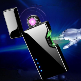 DAROBTL Korek Api Elektrik Pulse Plasma Arc Touch Sensor - JJA137 - Black - 6