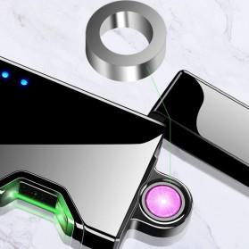 DAROBTL Korek Api Elektrik Pulse Plasma Arc Touch Sensor - JJA137 - Black - 7