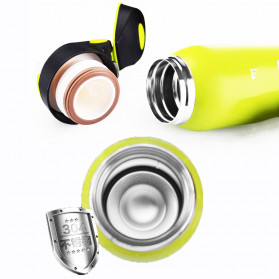 BTD Botol Minum Sepeda Thermos Bicycle Kettle Drink Bottle Stainless Steel 500ml - A1A096 - Silver - 4