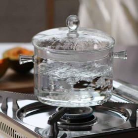 One Two Cups Pot Panci Masak Stewing Soup Pot Borosilicate Glass 15CM - YWJ-1265 - 3
