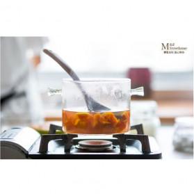 One Two Cups Pot Panci Masak Stewing Soup Pot Borosilicate Glass 15CM - YWJ-1265 - 11
