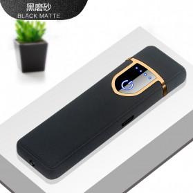 DAROBTL Korek Api Elektrik Fingerprint Touch Sensor - JL715 - Matte Black