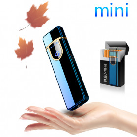 DAROBTL Korek Api Elektrik Fingerprint Touch Sensor - JL715 - Matte Black - 2
