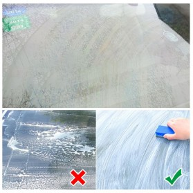 Vvcesidot Cairan Sabun Kaca Mobil Glass Oil Film Remover 120ml - TSLM11 - Orange - 3