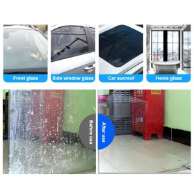 Vvcesidot Cairan Sabun Kaca Mobil Glass Oil Film Remover 120ml - TSLM11 - Orange - 7