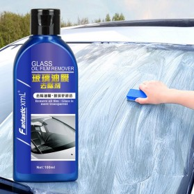 Vvcesidot Cairan Sabun Kaca Mobil Glass Oil Film Remover 100ml - TSLM11 - Blue