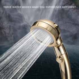 BAKALA Kepala Shower Mandi Rotating 360 Degrees With  3 Mode Water Pressure - BR-2223 - Silver - 2