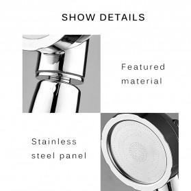 BAKALA Kepala Shower Mandi Rotating 360 Degrees With  3 Mode Water Pressure - BR-2223 - Silver - 3